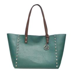 Women's Jessica Simpson Lolita Stud Tote w/ Removable Pouch Olive