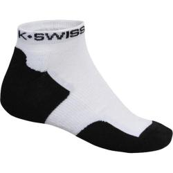 Men's K-Swiss Team Low Cut (6 Pairs) White/Black