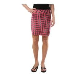 Women's KiKi*C The Skinny Skort Pink/Green/Eggplant
