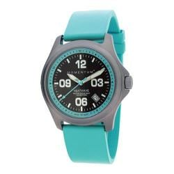 Women's Momentum Watch Heatwave Aqua/Aqua Goma Rubber