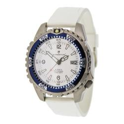 Men's Momentum Watch M1 Deep 6 Rubber White/Ultra White Rubber