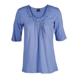 Women's Ojai Clothing Blossom Tee Blue Cornflower