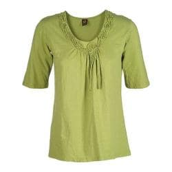 Women's Ojai Clothing Blossom Tee Green Oasis