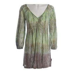 Women's Ojai Clothing Burnout Tunic Sage