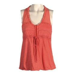 Women's Ojai Clothing Gypsy Racer Back Top Coral