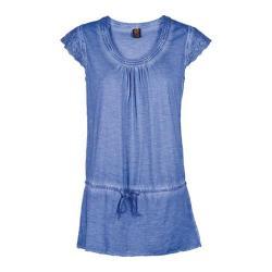 Women's Ojai Clothing Libby Tunic Blue Cornflower