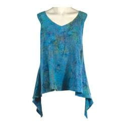 Women's Ojai Clothing Retro Swing Top Nile Blue
