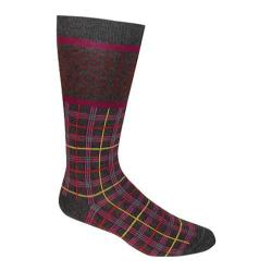 Men's Ozone Celtic Plaid Crew Sock (2 Pairs) Grey