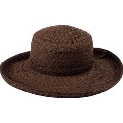 Women's Pantropic Makawao Braided Sun Hat Brown