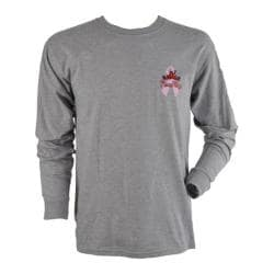 Peace Frogs Celebrate Life Frog Long Sleeve T-Shirt Grey