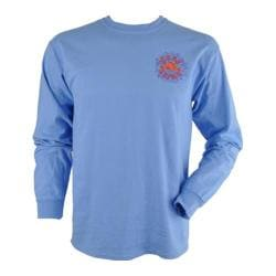Peace Frogs Good Karma Frog Long Sleeve T-Shirt Carolina Blue