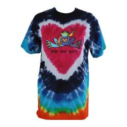 Peace Frogs Heart Tie Dye T-Shirt Heart