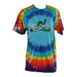 Peace Frogs Signature Tie Dye T-Shirt Blue Burst