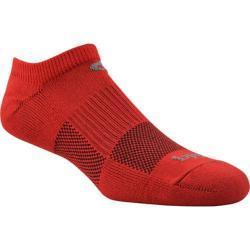Phiten No-Show (4 Pairs) Red