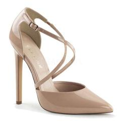 Women's Pleaser Sexy 26 Nude Patent 14576327