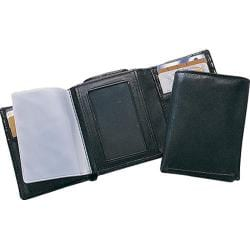 Preferred Nation 8003 Tri-Fold Wallet (Set of 2) Black