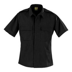 Propper BDU 2-Pocket Shirt Short Sleeve Long Black
