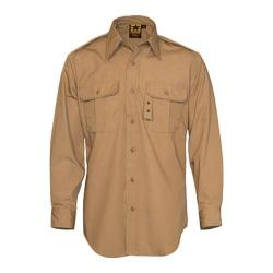 Men's Propper Tactical Dress Shirt Long Sleeve 65P/35C Khaki