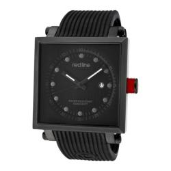 Men's Red Line 50035-BLK Black Silicone/Black