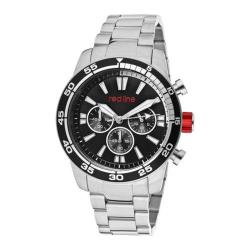 Men's Red Line 60006 Silver Stainless Steel/Black/Black/White