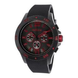 Men's Red Line RL-60034 Black Rubber/Black