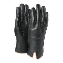 Women's Ricardo B.H. Premium Leather Gloves Black/Tan