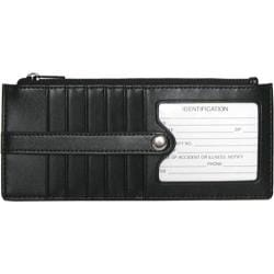 Royce Leather Credit Card Wallet 149-6 Black