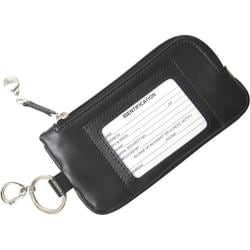 Women's Royce Leather Phone ID Credit Card Wallet 147-6 Black