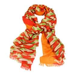 Women's SAACHI Colorblock Wrap Orange