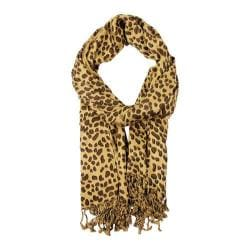Women's SAACHI Leopard Print Scarf Leopard