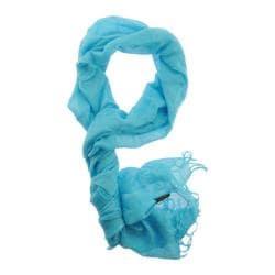 Women's SAACHI Linen Solids Turquoise