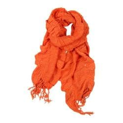 Women's SAACHI Ruffle Net Orange