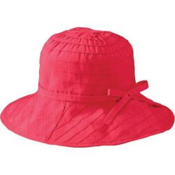 Women's San Diego Hat Company Adjustable Bucket Coral