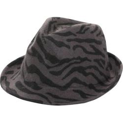 Women's San Diego Hat Company Animal Felt Fedora WFH7880 Animal