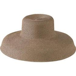 Women's San Diego Hat Company Extra Large Ultrabraid Hat Mixed Brown