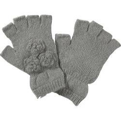 Women's San Diego Hat Company Fingerless Gloves KNG3084 Grey