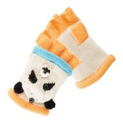 Women's San Diego Hat Company Knit Panda Fingerless Gloves KNG3136 Panda