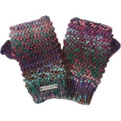Women's Screamer Tapestry Mitts Blue Mauve
