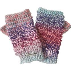 Women's Screamer Tapestry Mitts Misty Pink