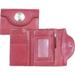 Scully Leather Wallet H845 Red
