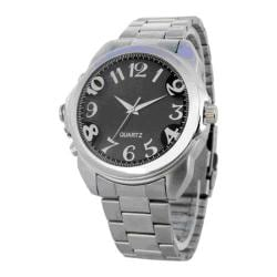 Men's Secuvox Spy Agent Watch Black