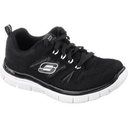 Boys' Skechers Flex Advantage Black/White