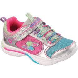 Girls' Skechers Game Kicks Silver/Multi