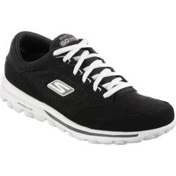 Women's Skechers GOwalk Rocket Ship Black/White