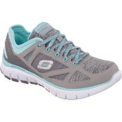 Women's Skechers Skech-Flex Style Source Gray/Blue