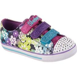 Girls' Skechers Twinkle Toes Chit Chat Glint and Gleam Blue/Multi