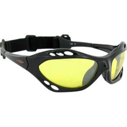 Men's SOS Slider Black/Yellow