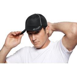 SportHill Reflective Running Cap Black