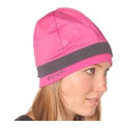 SportHill SwiftPro Tall Stripe Beanie Intense Pink/Warm Gray