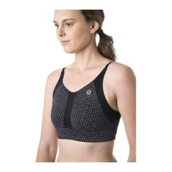 Women's tasc Performance Intensity Sports Bra Black Hex